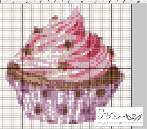 Grille En Solde by Ange S Soldes Et Grille Gratuite Cupcake Violet 233 Toil 233