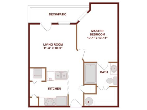 500 sf apartment floor plan 500 square foot house plans 500 square feet apartment