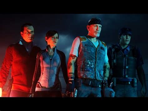 exo zombies cast exo zombies gameplay trailer shows off its star studded