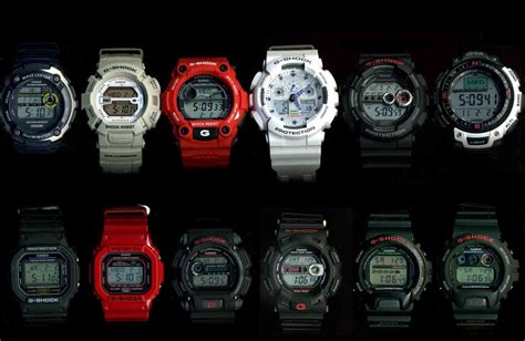 Limited Jam Tangan Casio G Shock Gmix Transformers Water Resist 7 watches that changed the world watchuseek