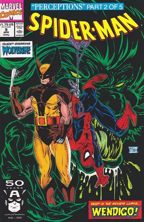 Astonishing Spider Wolverine Marvel Graphic Novel Ebook Spider 9 Nm Wolverine Todd Mcfarlane Silver Age Comics