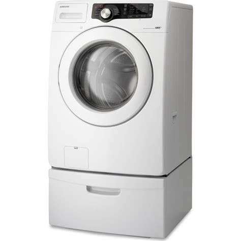 samsung wf210anw 27 quot front load washer with 3 5 cu ft capacity 6 wash cycles 3 wash options