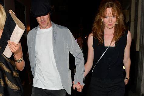 benedict cumberbatch has a girlfriend nooooo sherlock holmes star benedict cumberbatch gets close with