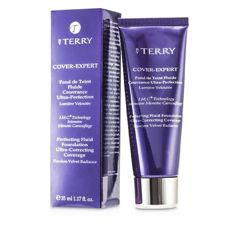 by terry cover expert perfecting fluid foundation 4 rosy beige by terry cover expert perfecting fluid foundation 5