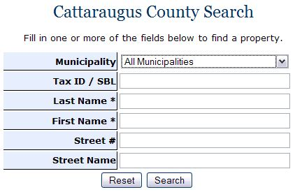 Hunt County Real Property Records About The Office Of Real Property Cattaraugus County
