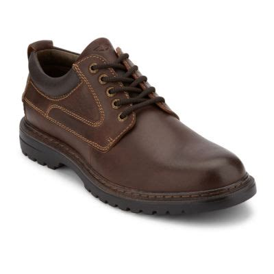 dockers warden mens oxford shoes jcpenney color red brown