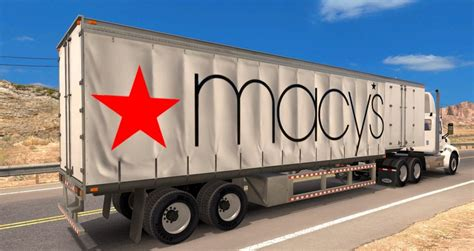 curtain trailer macy s standalone curtain trailer mod american truck