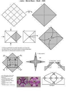 Origami Telescope - kusudama me modular origami crocus unit mandragora
