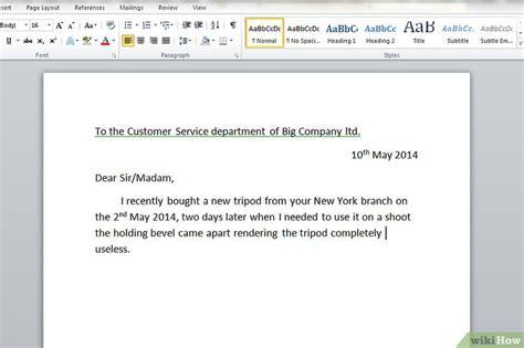 Sac Chair 3 Formas De Escrever Uma Carta De Reclama 231 227 O A Uma Empresa