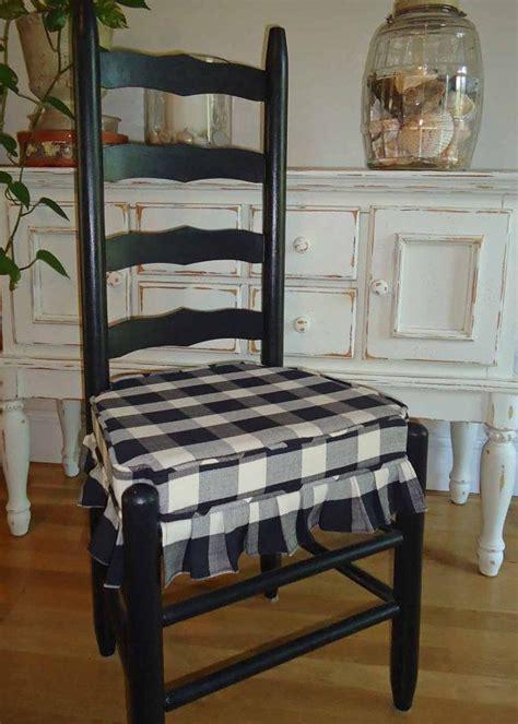 vintage ladder  chairs black  cream