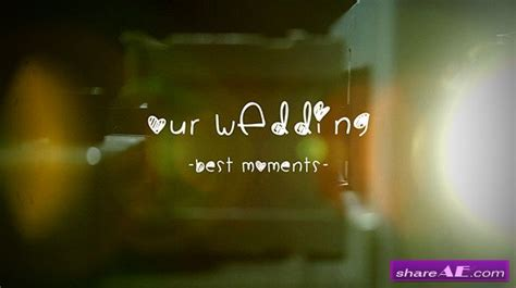 Wedding Album Slide Projector After Effects Project Videohive 187 Free After Effects Wedding Intro After Effects Templates