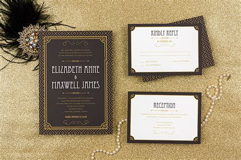 gatsby wedding invites gatsby wedding stationery wedding inspiration