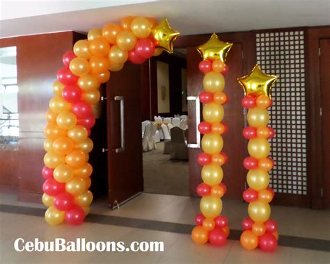 Entrance Decoration For Birthday by 1950s 60s Cebu Balloons And Supplies