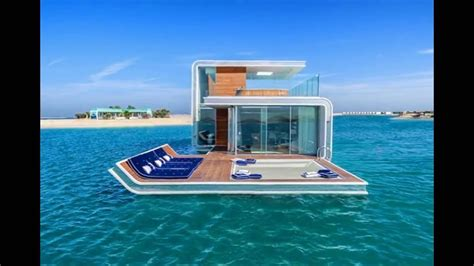 houseboat dubai floating seahorse villa emirati style luxury floating
