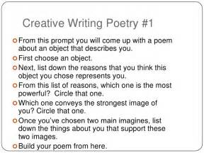 creative writing poetry prompts