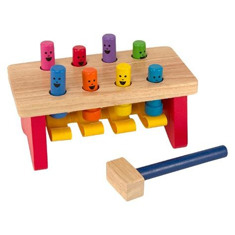 wooden work bench toy melissa doug 174 deluxe pounding bench wooden toy with