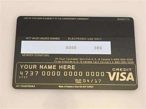 visa black card template new western black card metal creditcard
