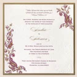 pics of wedding card designs wedding invitation sle