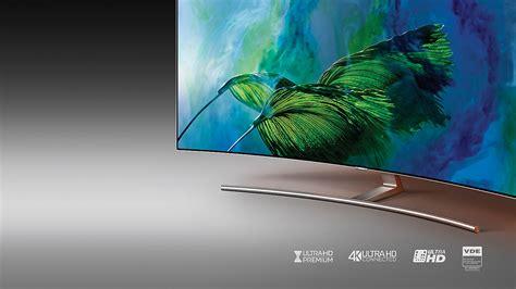 Samsung Q8c Samsung Qe55q8camt 55 Curved 4k Ultra Hd Hdr Smart Qled