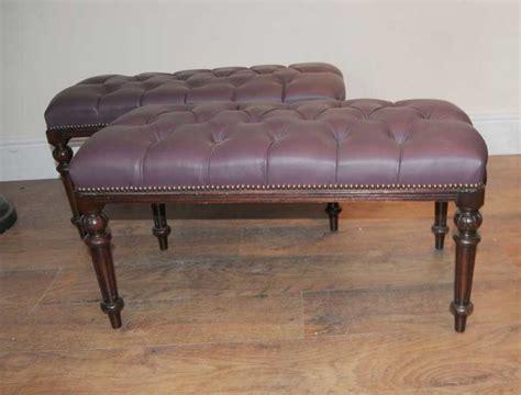 mahogany bench seat pair regency mahogany piano stools bench seats