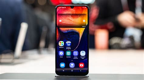 Samsung Galaxy A50 Front by Samsung Galaxy A50 A30 Blurring The Lines Between Flagship And Mid Range Androidpit
