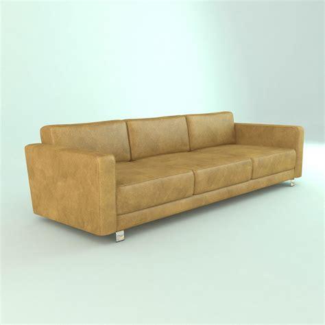 Model Sofa Modern Modern Leather Furniture Sofa 3d Model Max Obj 3ds Fbx Cgtrader