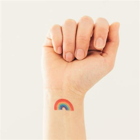 small rainbow tattoos rainbow tattoos designs ideas and meaning tattoos for you