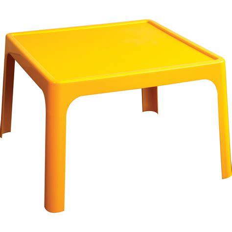bench tables jollykidz resin table yellow profile education