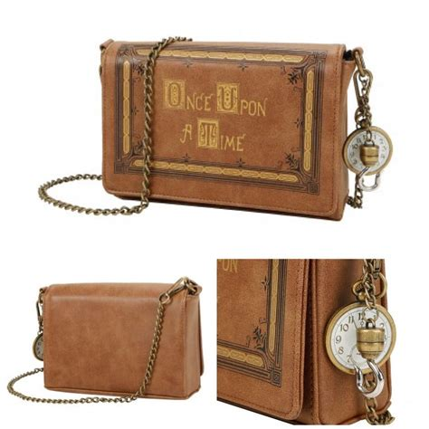 inside the magic on quot once upon a time book cover crossbody bag https t co ijule7hdeq