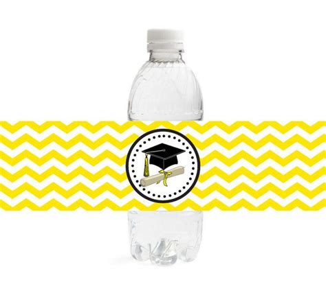 graduation labels template free 89 best images about water bottle labels on