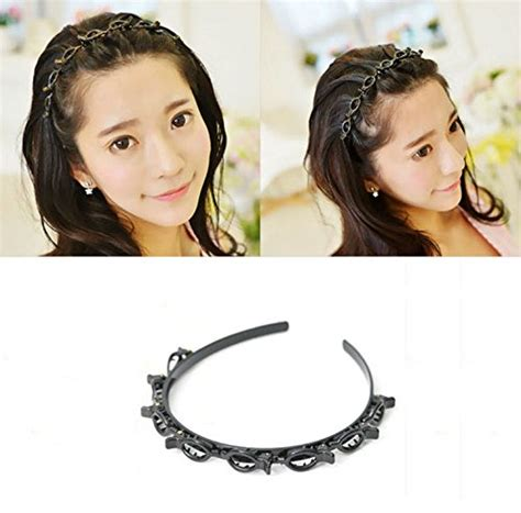 Twist Hairstyle Tools Clip Black And White by Akoak Coffee Hair Styling Twist