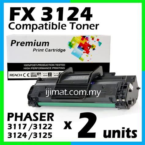Toner Xerox Phaser 3124 fuji xerox 3117 3124 compatible laser toner cartridge