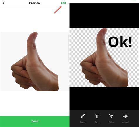 cara membuat stiker line pake foto sendiri cara membuat stiker menggunakan line creators studio di