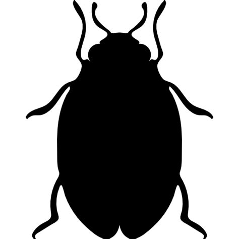 Ie8 Outline Bug by Insect Bed Bug Shape Free Animals Icons