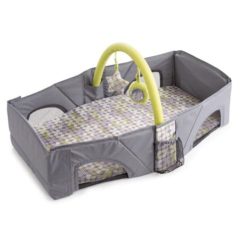baby travel bed amazon com summer infant travel bed infant and toddler
