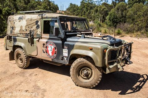 military land rover army land rover defender 110 on a mission to spread