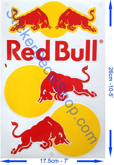 Stickers Red Bull Free by Red Bull Logo Sticker Www Pixshark Images