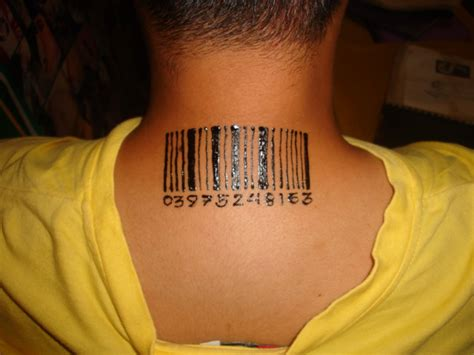 barcode tattoo gallery barcode tattoos designs ideas and meaning tattoos for you