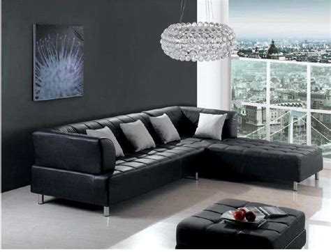 dark leather couch decorating furnishing a dark living room decorating with crystal