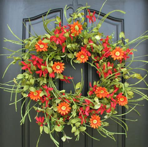 Summer Front Door Wreaths Summer Wreath Front Door Wreath Wreath