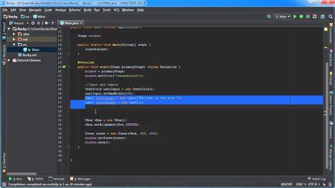 tutorial java gui javafx java gui tutorial 30 binding properties exle