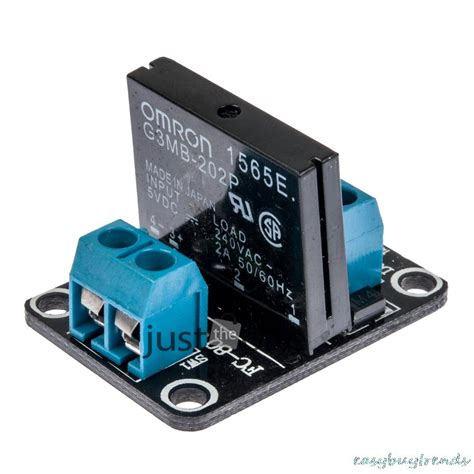 Ssr Solid State Relay Module 1 Channel 5v Resistive Fuse 1 pcs a03b 5v 1 channel omron ssr solid state relay module