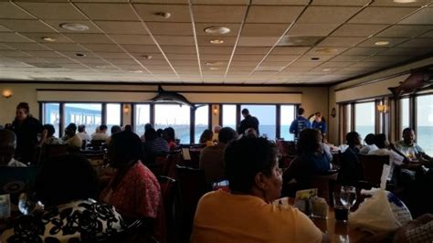 Lynnhaven Fish House by Windows On 2 Sides Look Out On The Pier And