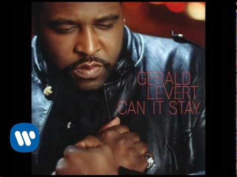 gerald levert   stay official audio youtube