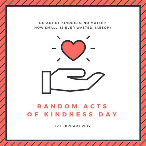 random acts of kindness template pink and white random acts of kindness day social media