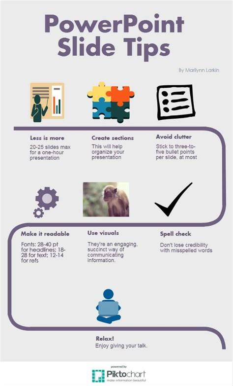 infographic powerpoint slide tips