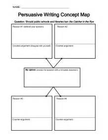 Argumentative Essay Graphic Organizer by Graphic Organizers For A Persuasive Essay Pdf