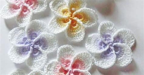 crochet pattern hawaiian flowers h 228 keln sie plumeria blumenmuster von goolgool auf etsy