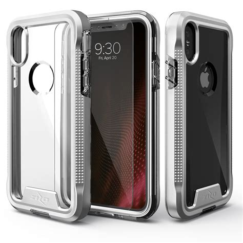 for apple iphone x zizo ion tempered glass tough armor cover ebay