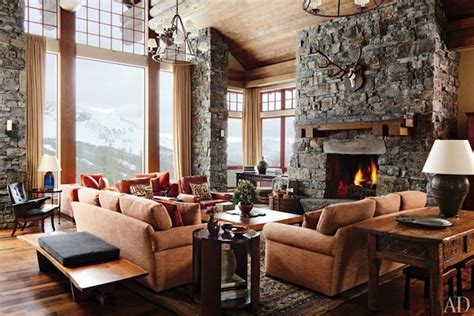 Mountain Homes Interiors by Mountain Home Rustic Decor Wood Cabin